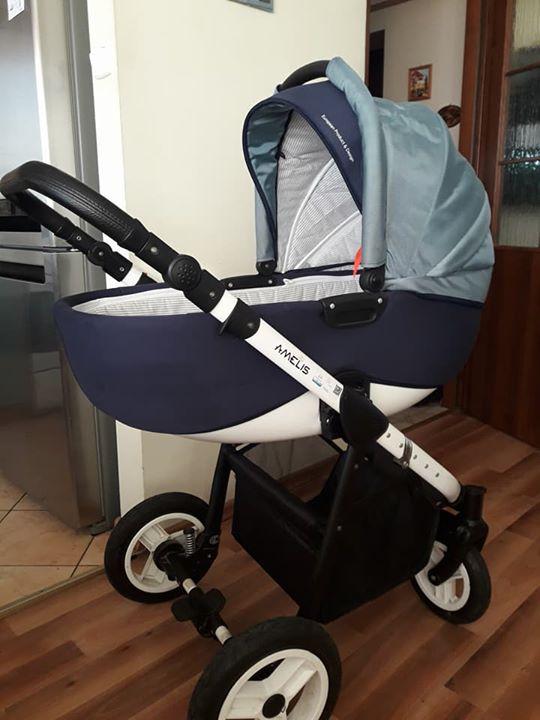 Wózek Amelis Pro Delti 950 Zł Dęblin Lotnisko Zestaw 3w1 Wózek