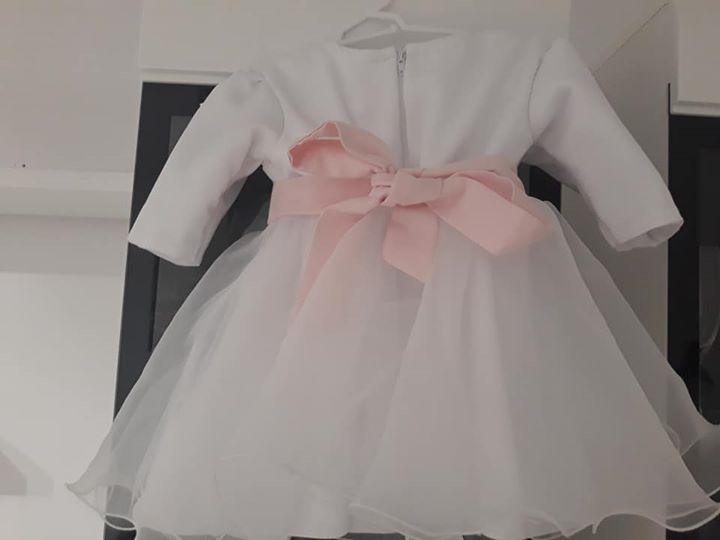Ubranko do chrztu dla dziewczynki w rozmiarze 74 120zł – Puławy Mam do sprzedania…