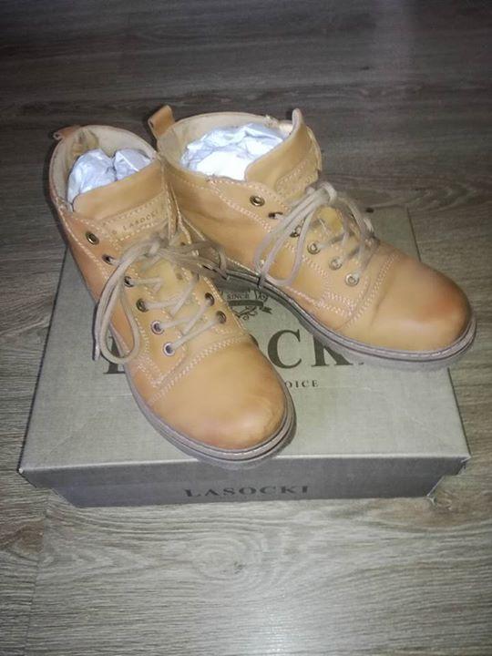 #buty Lasocki 60zł – Gołab, Lublin, Poland Sprzedam buty skórzane Lasocki rozmiar 38, długość…