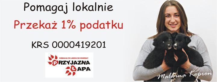 Agnieszka Śniegocka shared Fundacja Po Ludzku Do Zwierząt – Przyjazna Łapa's photo to the…
