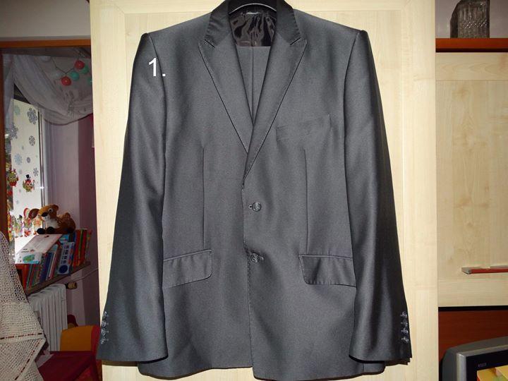 sprzedam garnitury 1,234zł – Puławy ; cena 150zł.+kw czarny w prążki cena 100zł.+kw