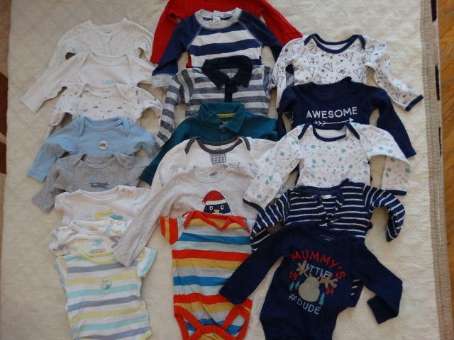 ubranka po synku od 0-12 m-cy. 1,254,583zł – Puławy Sprzedam ubranka po synku od…