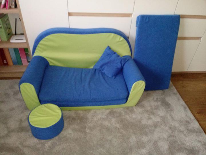 Mini sofa dla dzieci 100zł – Puławy Sprzedam mini sofkę dziecięcą. Idealna do zabawy…