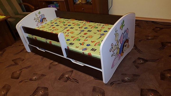 Łóżko dzieciece 250zł – Puławy Łóżko dziecięce używane dwa robiony na zamówienie pół roku…