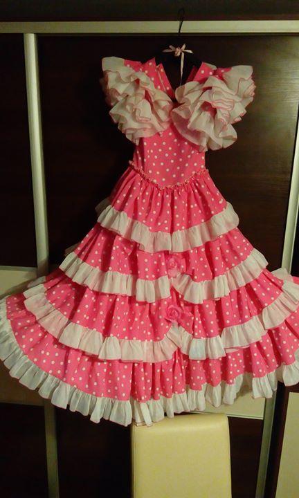Sukienka balowa 20zł Sukienka ma rozmiar S, ale świetnie pasuje na dziewczynkę o wzroście…