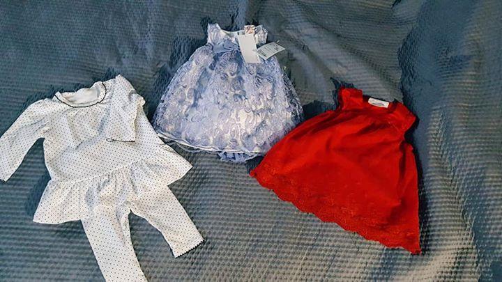 Sukienki w 15zł – 24-100 Czerwona sukienka H&M 25zl Fioletowa sukienka NOWA z metką…