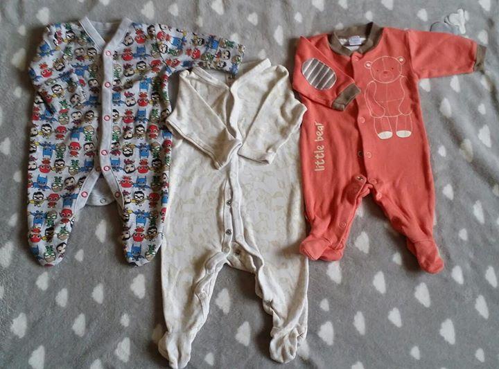 ubranka chłopięce 56-62 h&m, pepco, cool club 50zł – Puławy Sprzedam ubranka chłopięce, pajace,…
