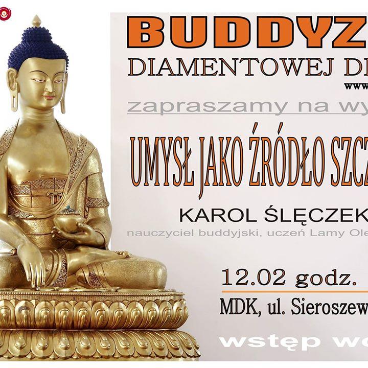 Wykład o Buddyźmie w Puławach. Zapraszamy zainteresowanych