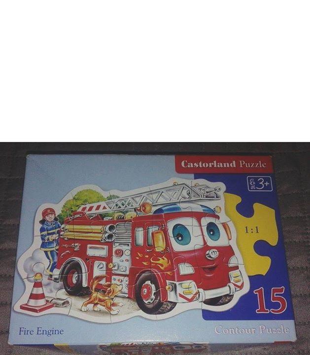 PUZZLE CASTORLAND konturowe 15 el. WÓZ STRAŻACKI 3zł – Puławy Niezwykle kolorowe dziecięce puzzle,…