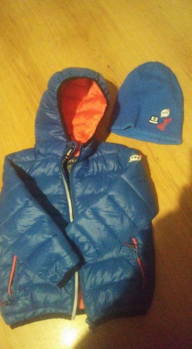 Kurtka i czapka dla chlopca 60zł – Puławy Sprzedam kurtke i czapke pikowana dla…