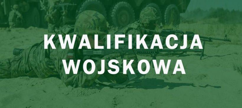 Kwalifikacja wojskowa na terenie Puław przeprowadzona zostanie przy ul. Centralnej 14 od r. do