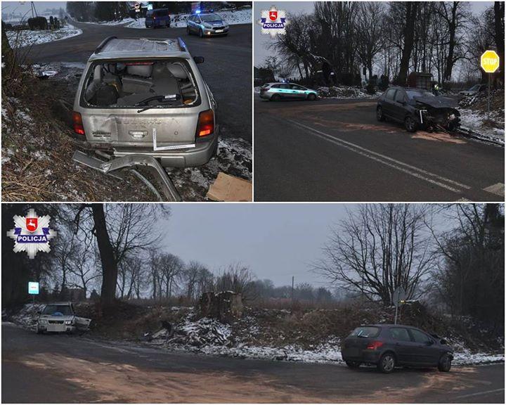 NIEUSTĄPIENIE PIERWSZEŃSTWA PRZYCZYNĄ WYPADKU W DRZEWCACH Policjanci z Nałęczowa prowadzą czynności w sprawie wypadku,…
