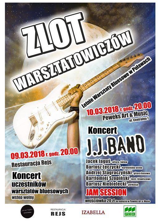 Informacja dla wszystkich fanów Puławskiego Lata Bluesowego. W oczekiwaniu na lato i kolejne warsztaty…