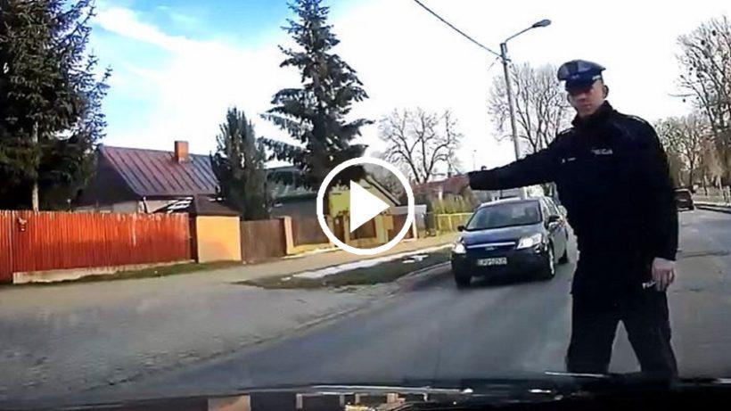 Wpadka puławskiej Policji :) I żeby nie było, nagranie nie jest moje, znalezione w