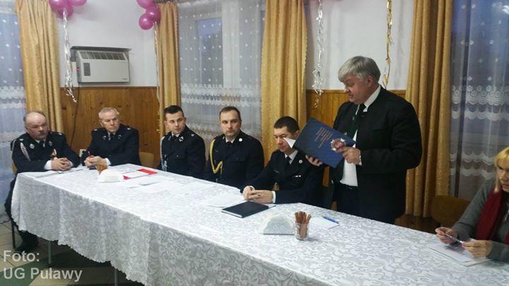 OSP KSRG Góra Puławska i OSP Leokadiów PODSUMOWAŁY MINIONY ROK Kolejne jednostki Ochotniczych Straży…