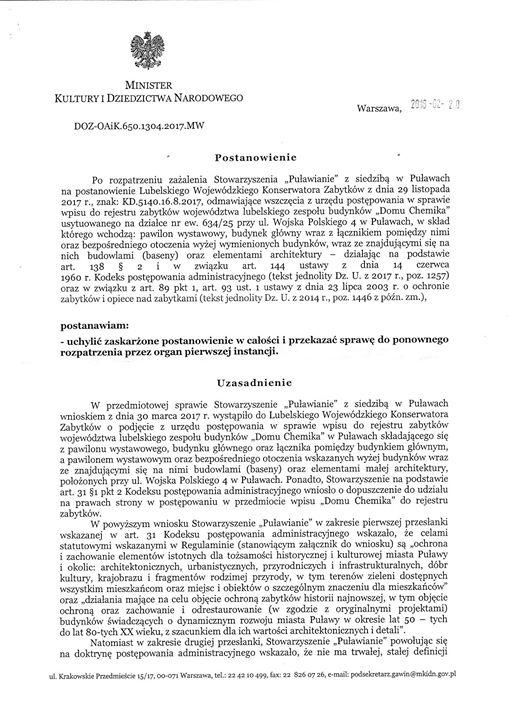 """Szymon Karczewski shared Stowarzyszenie """"Puławianie""""'s post to the group: Puławy"""
