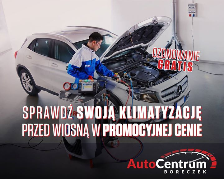Nie czekaj do ostatniej chwili i umów się na wizytę w Auto Centrum Boreczek…