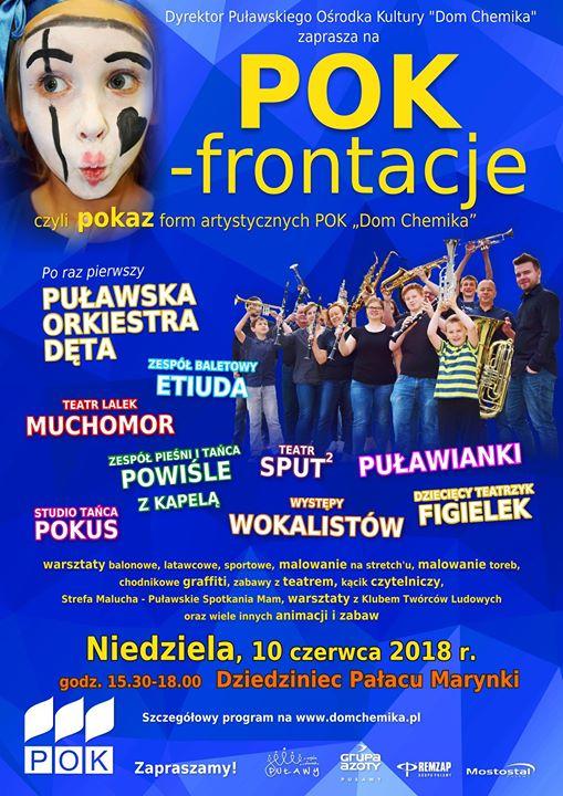 """Puławski Ośrodek Kultury """"Dom Chemika"""" zaprasza 10 czerwca, w niedzielne popołudnie, na trzecią już…"""