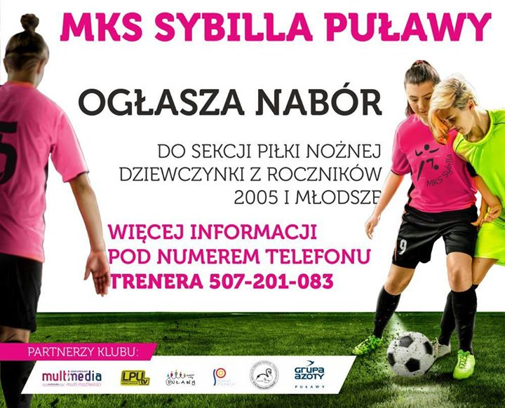 MKS Sybilla zaprasza na swoje treningi