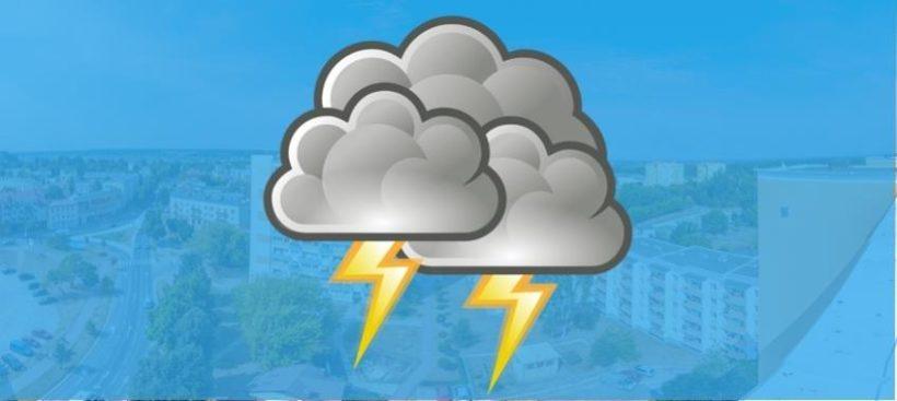 IMGW-PIB Cetralne Biuro Prognoz Meteorologicznych ostrzega: 11 czerwca prognozuje się wystąpienie burz z opadami…