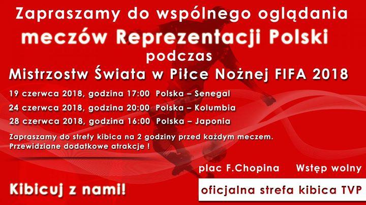 Nie każdy ma możliwość wybrać się do Rosji kibicować Reprezentacji Polski na mundialu, dlatego…