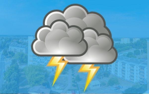 Aktualizacja ostrzeżenia meteo – burze z gradem możliwe w powiecie puławskim od godziny 16:00