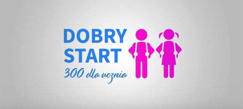 """️""""Dobry Start"""" to 300 zł wsparcia wypłacanego raz w roku wszystkim uczniom. Wnioski można…"""