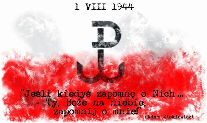 CHWAŁA BOHATEROM, CZEŚĆ ICH PAMIĘCI #PowstanieWarszawskie1944
