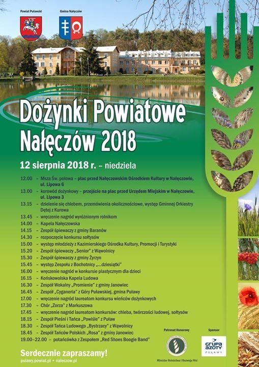 Jutro w Nałęczowie odbędą się Dożynki dnia, wśród wielu atrakcji, będzie można zobaczyć także…