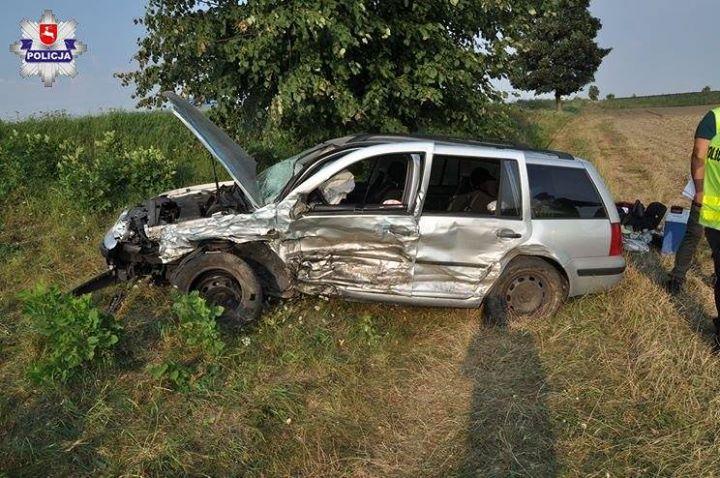 Informacja o wypadku wpłynęła do puławskiego dyżurnego tuż po godzinie piątej rano w piątek…