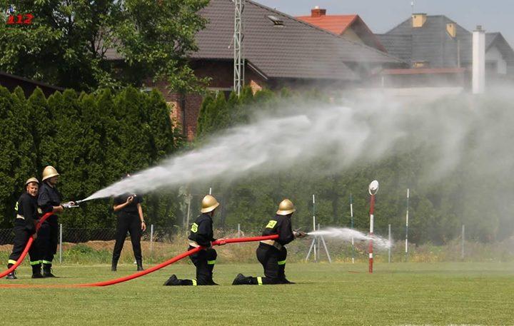 Powiatowe Zawody Sportowo-Pożarnicze OSP 2018 W dniu 25 sierpnia 2018 roku boisku szkolnym w…