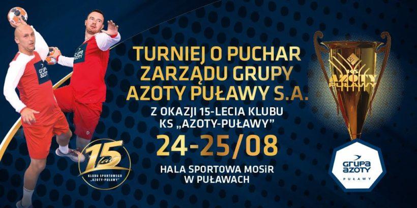 KS Azoty-Puławy świętuje 15-lecie powstania klubu. Z tej okazji, już dzisiaj w Hali Sportowej…