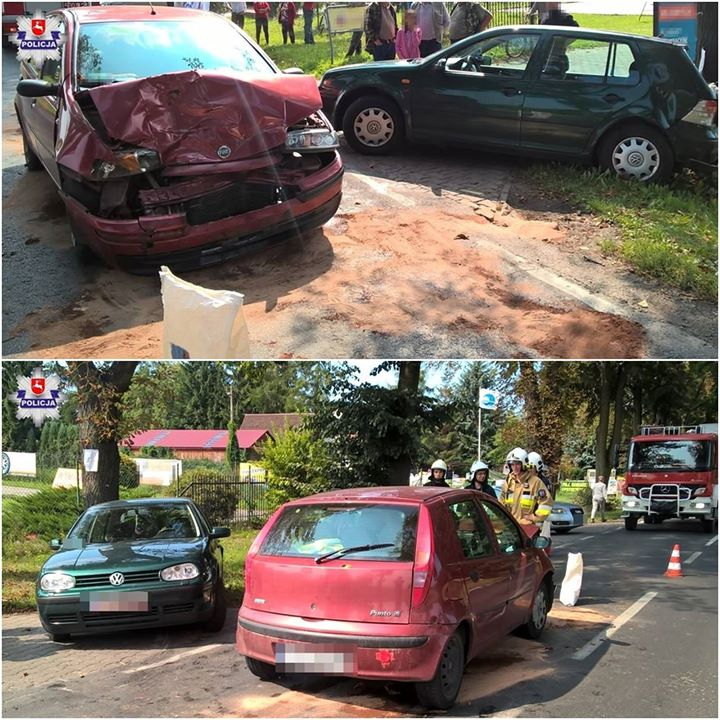 Do zdarzenia doszło r w Bochotnicy Kolonii, koło Nałęczowa. Kierujący pojazdem marki Volkswagen, 30-latek…