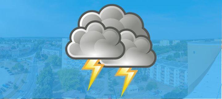 Zabieramy ze sobą parasole️ IMGW-PIB prognozuje wystąpienie dzisiaj naszym regionie burz z opadami deszczu…