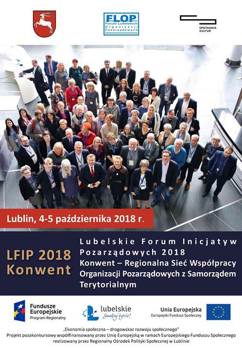 """W imieniu organizatorów serdecznie zapraszamy organizacje pozarządowe z Puław do udziału w """"Lubelskim Forum…"""