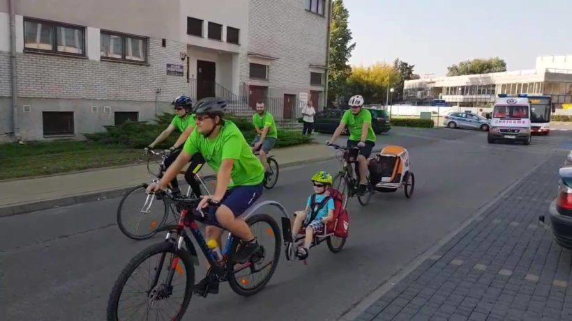 ️️Wystartował rajd rowerowy ulicami Puław w ramach Europejskiego Dnia Bez Samochodu