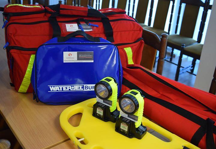  Dzisiaj przekazano sprzęt ratowniczy Ochotniczej Straży Pożarnej w Puławach ️ sprzęt został zakupiony…