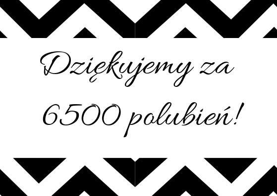 6500 polubień Puławoaktywni dziękujemy, że jesteście z nami ! :)