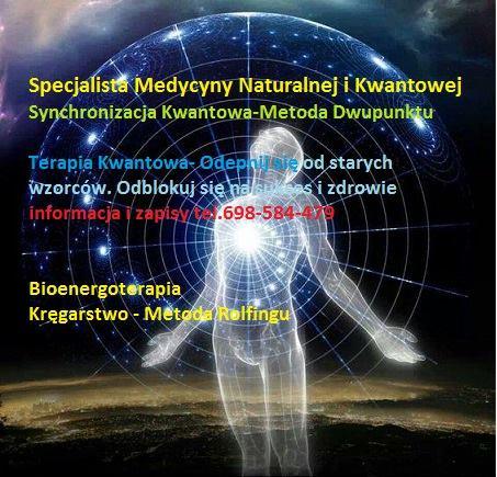 JUŻ 6 LISTOPADA ponownie w PUŁAWACH JACEK MICKIEWICZ DYPLOMOWANY BIOENERGOTERAPEUTA-KRĘGARZ Specjalista Medycyny Naturalnej i…