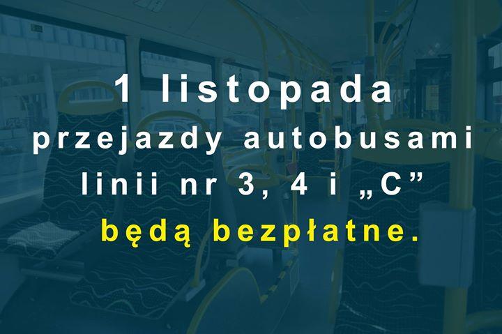 Dodatkowe kursy autobusowe i połączenia na liniach komunikacyjnych obsługujących cmentarze położone przy ulicach Piaskowa,…