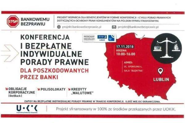 STOP BANKOWEMU BEZPRAWIU – Czy wiesz, że umowy kredytów walutowych w świetle prawomocnych wyroków…