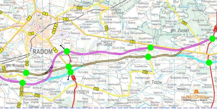 S12 – wydłużono termin nadsyłania opinii mieszkańców w sprawie przebiegu drogi. W ramach spotkań…