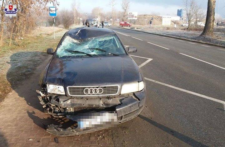 Do wypadku doszło r, około godz. 8:15 na drodze wojewódzkiej nr 801 w Puławach…