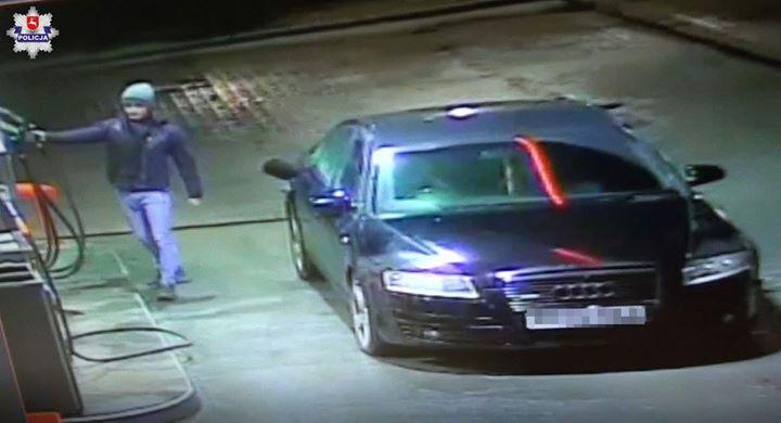 [Z REGIONU] Opolscy policjanci poszukują mężczyzny który dokonał kradzieży paliwa na jednej ze stacji…