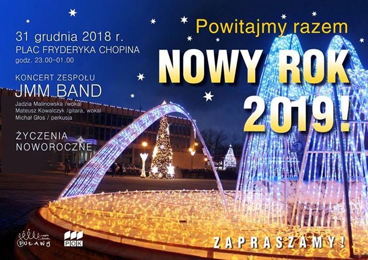 Sylwester Miejski 2018/2019 Wszystkich, którzy chcą powitać nadchodzący 2019 rok na świeżym powietrzu, zapraszamy…