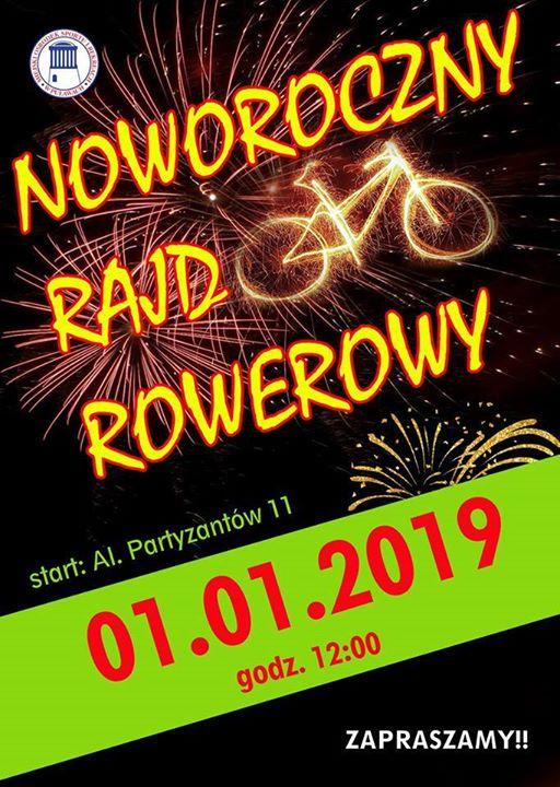 ️Już jutro o godzinie wyruszy Noworoczny Rajd Rowerowy, zorganizowany przez Miejski Ośrodek Sportu i…
