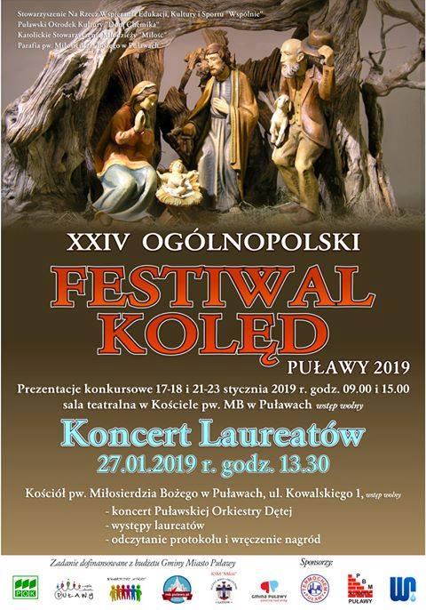 Już dzisiaj o godzinie w Kościele Miłosierdzia Bożego w Puławach odbędzie się koncert Laureatów…