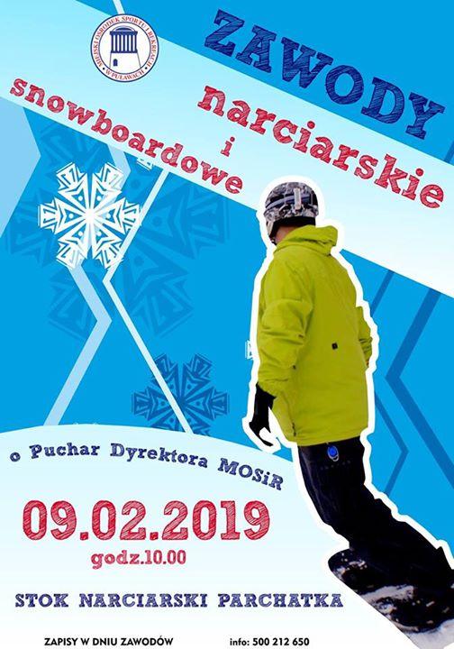️Przypominamy, że już jutro coś specjalnego dla wszystkich miłośników sportów zimowych – Zawody narciarskie…