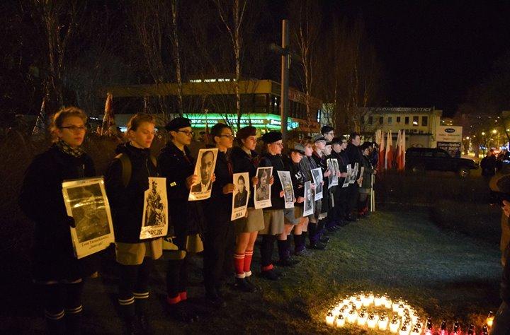 """🇵🇱Dzisiaj w Puławach odbyły się wydarzenia patriotyczne upamiętniające Narodowy Dzień Pamięci """"Żołnierzy Wyklętych"""""""