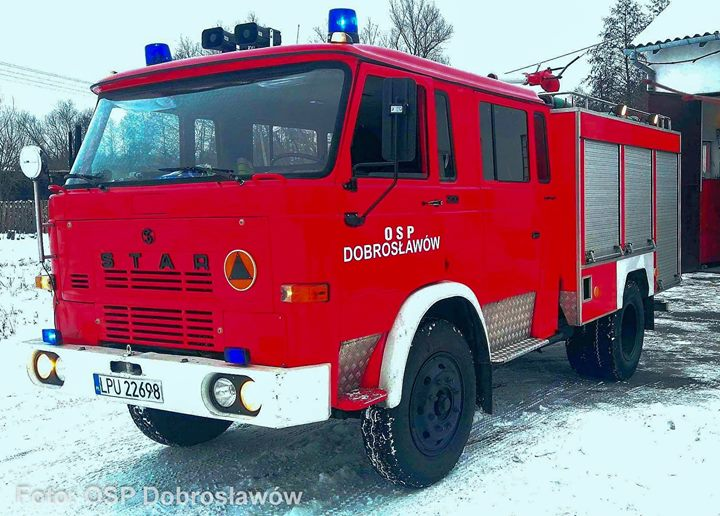 507[L]06 – GBA 2,5/16 Star 200 / MOTO TRUCK Foto: OSP Dobrosławów